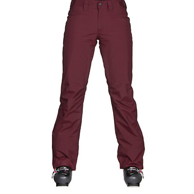 The North Face Aboutaday Womens Ski Pants, Deep Garnet Red, viewer
