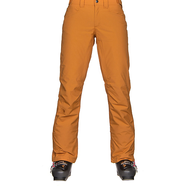The North Face Aboutaday Womens Ski Pants, Citrine Yellow, 600