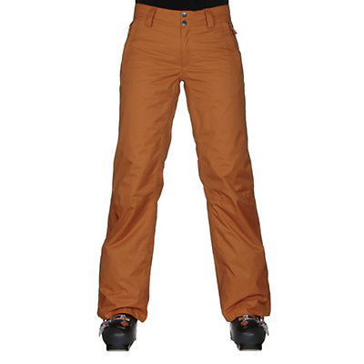 The North Face Sally Pant Womens Ski Pants, Citrine Yellow, viewer
