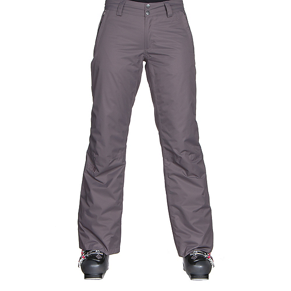 The North Face Sally Pant Long Womens Ski Pants, Rabbit Grey, 600