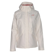 The North Face Inlux Womens Insulated Ski Jacket, Vintage White, medium