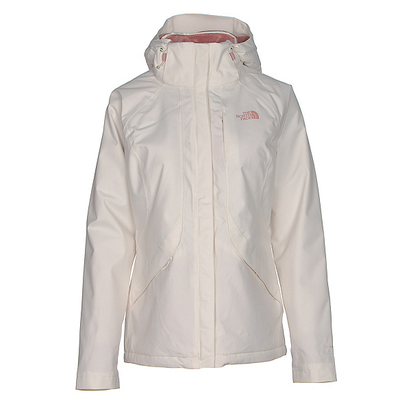 The North Face Inlux Womens Insulated Ski Jacket, Vintage White, 600