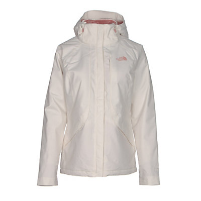 The North Face Inlux Womens Insulated Ski Jacket, Vintage White, viewer