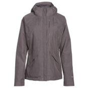 The North Face Inlux Womens Insulated Ski Jacket, Quail Grey Heather, medium