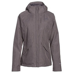 The North Face Inlux Womens Insulated Ski Jacket, Quail Grey Heather, 256