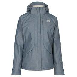 The North Face Inlux Womens Insulated Ski Jacket, Shady Blue Chambray, 256