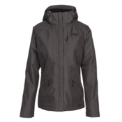 The North Face Inlux Womens Insulated Ski Jacket, Asphalt Grey, medium