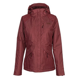 The North Face Inlux Womens Insulated Ski Jacket, Barolo Red Heather, 256