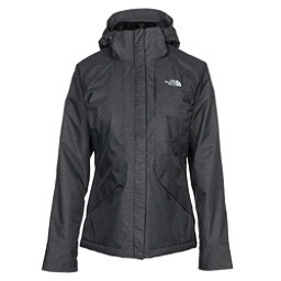 The North Face Inlux Womens Insulated Ski Jacket, TNF Black Heather, 256