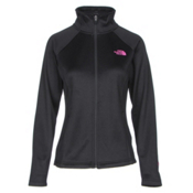 The North Face PR Agave Womens Jacket, TNF Black-Meadow Pink, medium