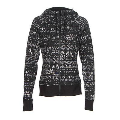 The North Face French Terry Lace Print Full-Zip Womens Hoodie, , viewer