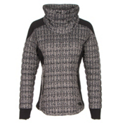 The North Face MA ThermoBall Pullover, TNF Black Lace Print, medium