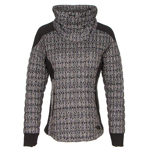 The North Face MA ThermoBall Pullover, TNF Black Lace Print, 600
