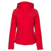 The North Face Powdance Womens Insulated Ski Jacket, High Risk Red, medium