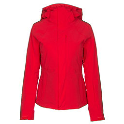 The North Face Powdance Womens Insulated Ski Jacket, High Risk Red, 256