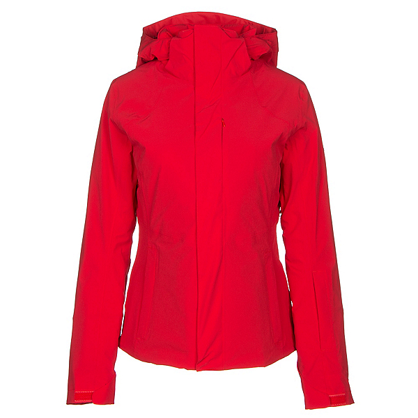 The North Face Powdance Womens Insulated Ski Jacket, High Risk Red, 600