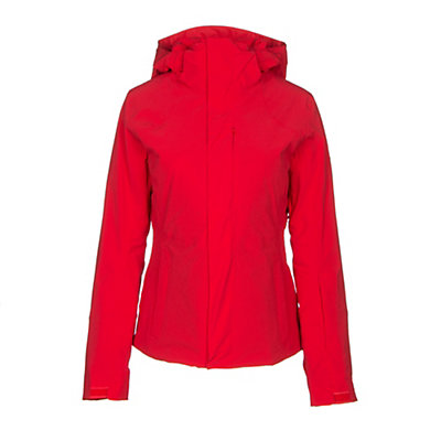 The North Face Powdance Womens Insulated Ski Jacket, Urban Navy Light Heather, viewer