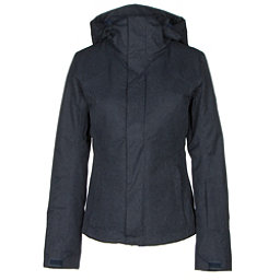 The North Face Powdance Womens Insulated Ski Jacket, Urban Navy Light Heather, 256