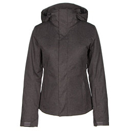 The North Face Powdance Womens Insulated Ski Jacket, Rabbit Grey Heather, 256