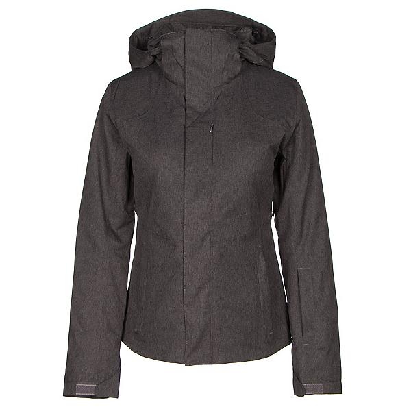The North Face Powdance Womens Insulated Ski Jacket (Previous Season), Rabbit Grey Heather, 600