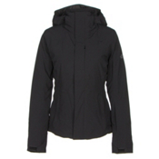 The North Face Powdance Womens Insulated Ski Jacket, TNF Black, medium