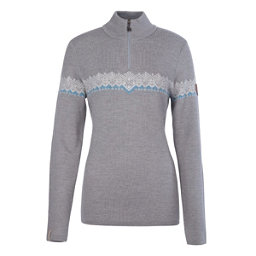 Meister Violet Womens Sweater, Pearl Gray Heather-Winter Whit, 256