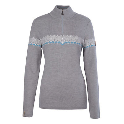 Meister Violet Womens Sweater, Charcoal Heather-Pearl Gray He, viewer