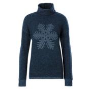 Meister Sofia Womens Sweater, Denim-Pearl Gray Heather, medium