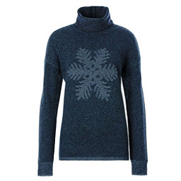 Meister Sofia Womens Sweater, Denim-Pearl Gray Heather, 256