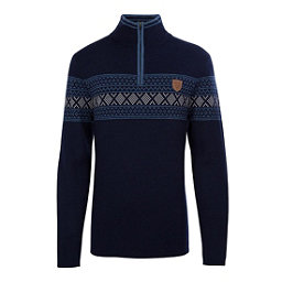 Meister Pablo Mens Sweater, Deep Navy-Denim-Pearl Gray Hea, 256