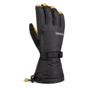 Dakine Leather Titan Gloves, Black-Tan, medium