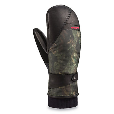 Dakine Firebird Womens Mittens, Peat Camo, viewer