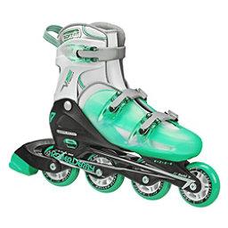 Roller Derby V Tech 500 Adjustable Girls Inline Skates, Mint, 256
