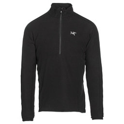 Arc'teryx Delta LT Zip Neck Mens Mid Layer, Black, 256