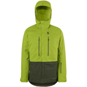 Scott Vertic 2L Mens Insulated Ski Jacket, Leaf Green-Alpine Green, medium