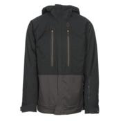 Scott Vertic 2L Mens Insulated Ski Jacket, Black-Earth Grey, medium