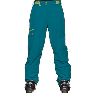 Scott Terrain Dryo Mens Ski Pants, Maui Blue, viewer