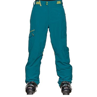 Scott Terrain Dryo Mens Ski Pants, Maui Blue, viewer