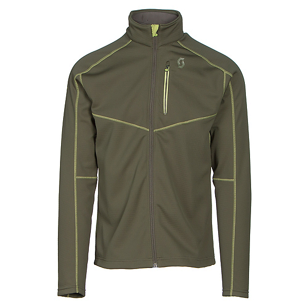 Scott Defined Tech Mens Jacket, Alpine Green, 600