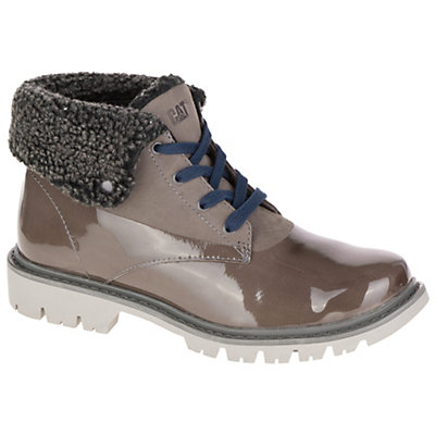 Caterpillar Hub Fur Womens Boots, Medium Charcoal, viewer