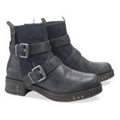 Caterpillar Kearny Womens Boots, Navy Denim, medium