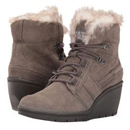 Caterpillar Harper Faux Fur WP Womens Boots, Gunsmoke, 256