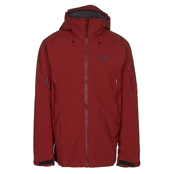 Arc'teryx Fissile Mens Insulated Ski Jacket, Sangria, 600