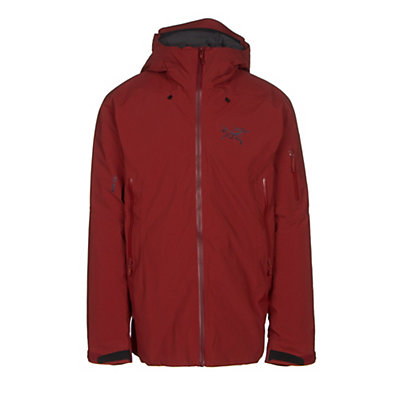 Arc'teryx Fissile Mens Insulated Ski Jacket, Sangria, viewer
