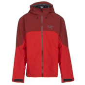 Arc'teryx Rush Mens Shell Ski Jacket, Magmatic, medium