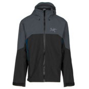 Arc'teryx Rush Mens Shell Ski Jacket, Tungsten Magnet, medium
