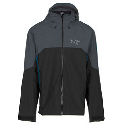Arc'teryx Rush Mens Shell Ski Jacket, Tungsten Magnet, 256