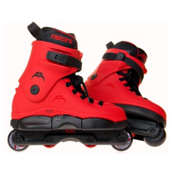 Razors SL Red Aggressive Skates, Red-Black, medium