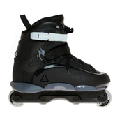 Remz Josiah Pro Aggressive Skates, Black-Grey, medium