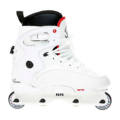 Remz Nils 1.5 Pro Aggressive Skates, White-Red, viewer